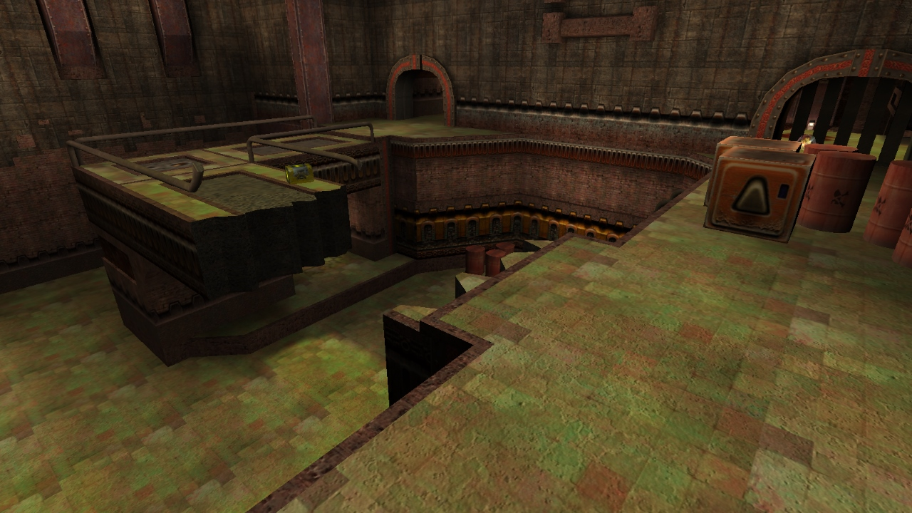 Quake3World com • View topic - New EntityPlus map: Dissent